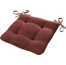 Galette de chaise Ontario rouille/rouge 42x42 cm-thumb-0