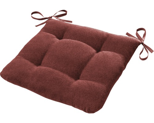 Sitzkissen Ontario rost / rot 42x42 cm