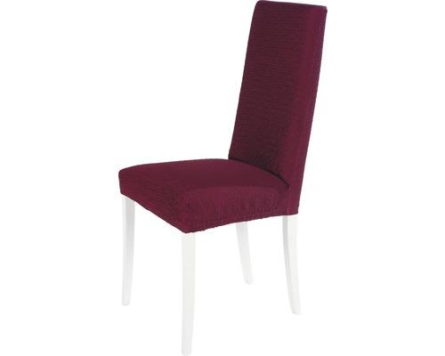 Housse pour chaise Tunez bordeaux-0