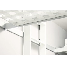 Escalier pour lit surélevé blanc apprêté 2 parties Dolle avec 10 marches-thumb-6