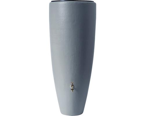 Réservoir d''eau GARANTIA 2 en 1 avec bac à plantes, 300 litres, gris zinc