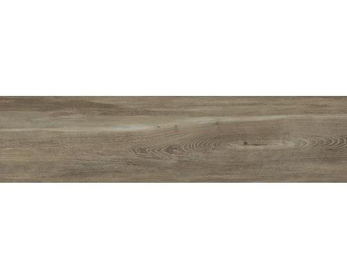Carrelage pour sol en grès cérame fin San Remo Walnut 29,5x120cm-0