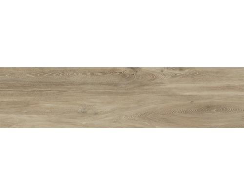 Carrelage pour sol et mur en grès cérame fin San Remo Teak 39,5 x 160 cm-0