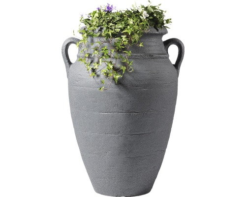 Amphore GARANTIA antique 90 litres, granit foncé