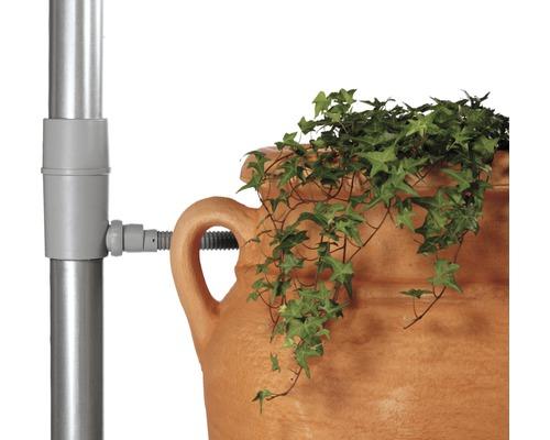 Collecteur d''eau de pluie, filtre pour tuyau de descente, gris
