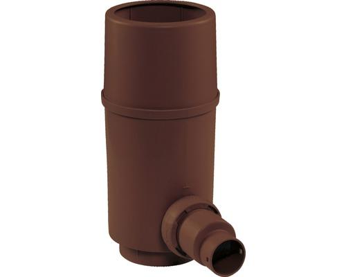 Collecteur d''eau de pluie Pro, filtre pour tuyau de descente, marron