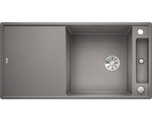 Spüle BLANCO AXIA III XL 6 S alumetallic 523512 inkl. Glasschneidbrett