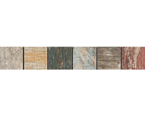 Frise en céramique Woodstock antique 3 4,8x29,8cm