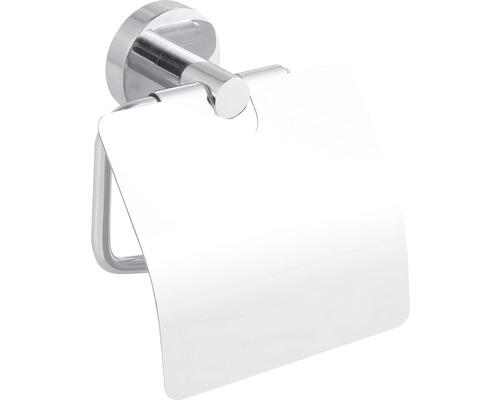 Dérouleur papier toilette avec couvercle tesa SMOOZ chrome