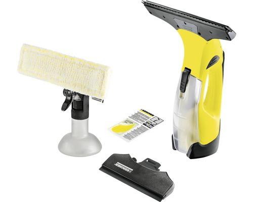 Nettoyeur de vitres aspirateur de vitres Kärcher WV 5 Plus N avec pulvérisateur avec bonnette microfibre et chargeur