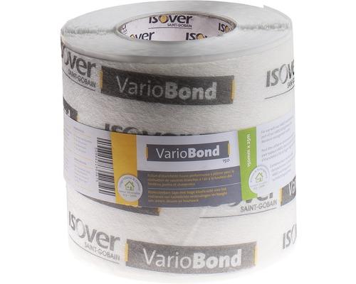 Ruban de crépissage universel ISOVER Vario Bond pour des jointures étanches à l''air à l''intérieur et à l''extérieur 25 m x 150 mm