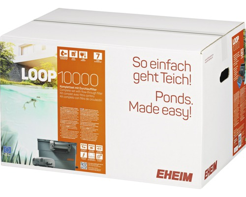 Filtre gravitaire EHEIM LOOP10000 set complet