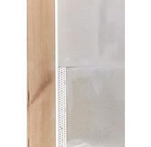 Profilé de raccordement PVC PP 9,5 mm avec lèvre d''étanchéité longueur 3,00 m botte = 35 pièces-thumb-1