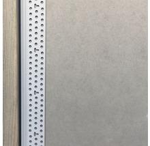 Profilé de raccordement PVC PP 15 mm longueur 3,05 m botte = 40 pièces-thumb-1