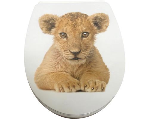 WC-Sitz ADOB Trento Löwe Simba mit Absenkautomatik