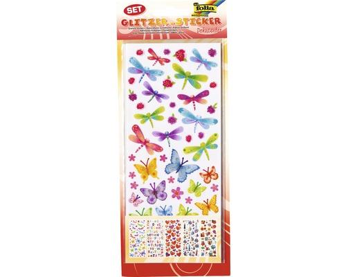 Sticker scintillant décoratif 130 pces