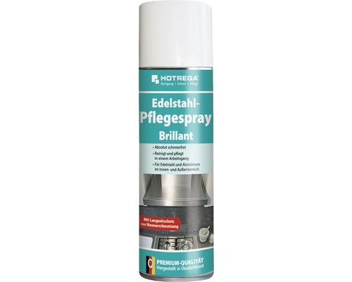 Spray d''entretien pour acier inoxydable brillant Hotrega 300ml-0