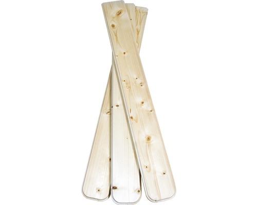 Planches de balcon/clôture épicéa 950x115x18 mm 3 pièces-0