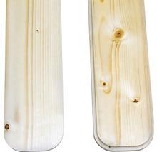 Planches de balcon/clôture épicéa 950x115x18 mm 3 pièces-thumb-2
