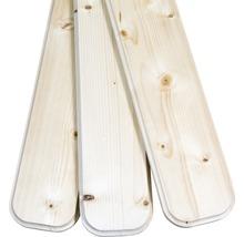 Planches de balcon/clôture épicéa 950x115x18 mm 3 pièces-thumb-3