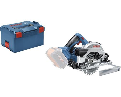 Scie circulaire sans fil Bosch Professional GKS 18V-57 G avec L-BOXX 238 et lame de scie circulaire (Sandard for Wood, 165 x 1,7/1,2 x 20 mm, 36 dents), sans batterie ni chargeur