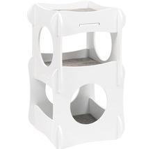 Meuble pour chat Catit Vesper Condo 48,5 x 48,5 x 80 cm blanc-thumb-0