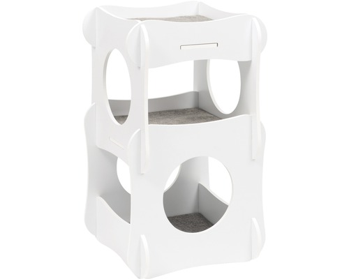 Meuble pour chat Catit Vesper Condo 48,5 x 48,5 x 80 cm blanc-0