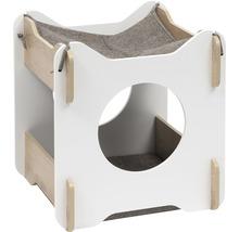Meuble pour chat Catit Vesper Cabana 50 x 50 x 53 cm blanc-thumb-0