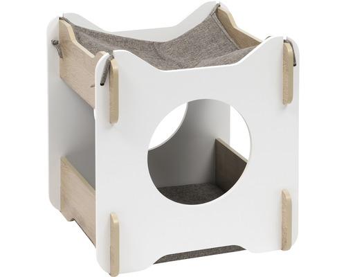 Meuble pour chat Catit Vesper Cabana 50 x 50 x 53 cm blanc-0