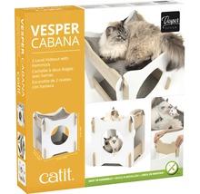 Meuble pour chat Catit Vesper Cabana 50 x 50 x 53 cm blanc-thumb-1