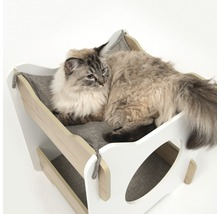 Meuble pour chat Catit Vesper Cabana 50 x 50 x 53 cm blanc-thumb-2