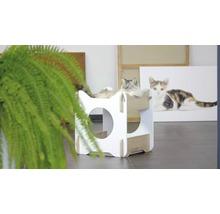 Meuble pour chat Catit Vesper Cabana 50 x 50 x 53 cm blanc-thumb-3