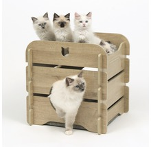 Meuble pour chat Catit Vesper Cottage 50 x 50 x 49 cm chêne-thumb-3