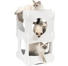 Meuble pour chat Catit Vesper Condo 48,5 x 48,5 x 80 cm blanc-thumb-3