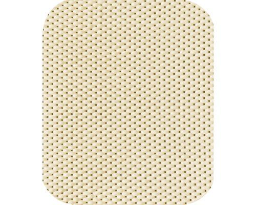 Set de 2 tapis à utilisation universelle vanille 28x37 cm