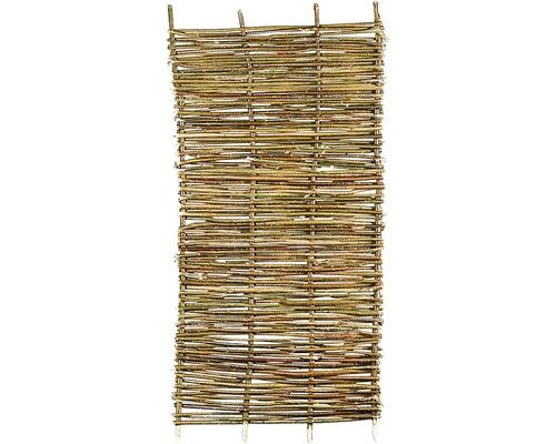 Panneau en bois noisetier 90 x 180 cm, grossier