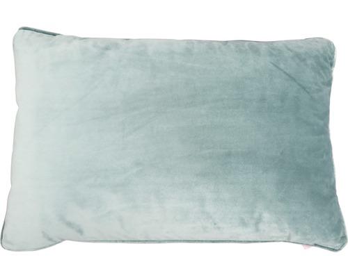 Coussin décoratif Velvet menthe 40x60 cm-0