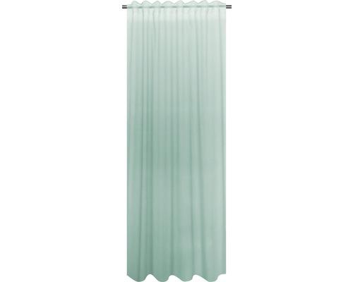 Rideau avec galon fronceur Cambric menthe 140x280 cm-0