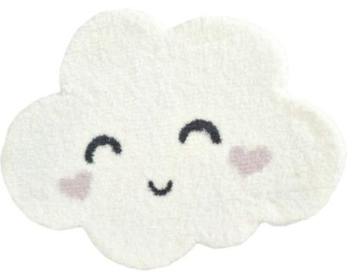 Tapis nuage blanc 60x80 cm