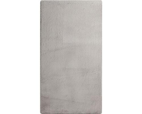 Tapis Romance argent gris 80x150 cm