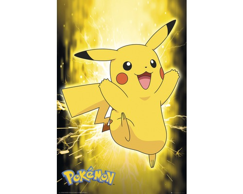 Poster Pokemon Pikachu neon 61x91,5 cm
