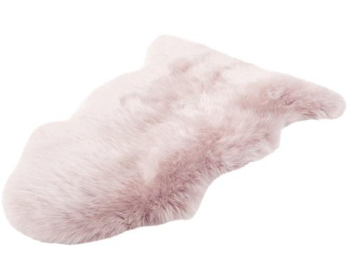 Peau de mouton rose 90x60cm
