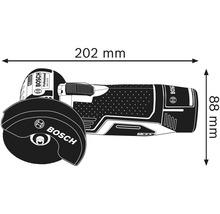 Meuleuse d'angle sans fil Bosch Professional GWS 12V-76 avec 1 x disque à tronçonner en métal dur, 2 disques à tronçonner en Inox et L-BOXX 102, sans batterie ni chargeur-thumb-4