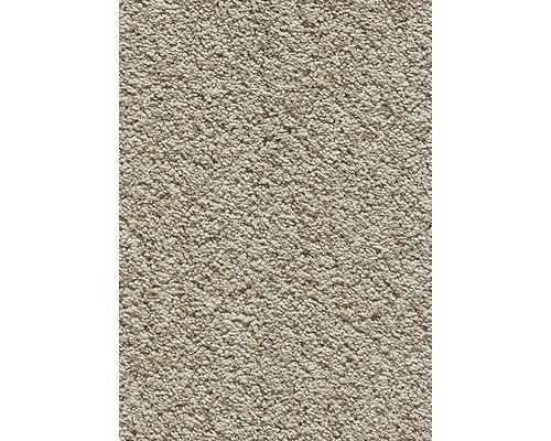 Teppichboden Kräuselvelours Romina beige 400 cm breit (Meterware)