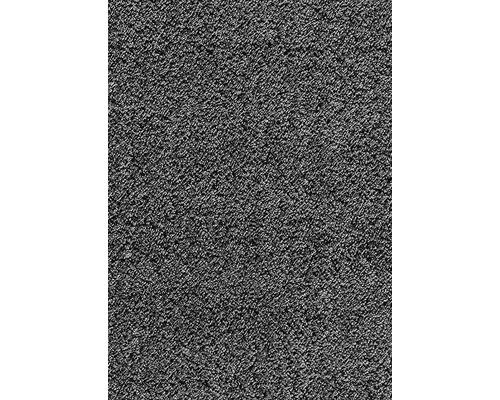 Moquette velours frisé Silkysoft anthracite 400 cm de large (au mètre)