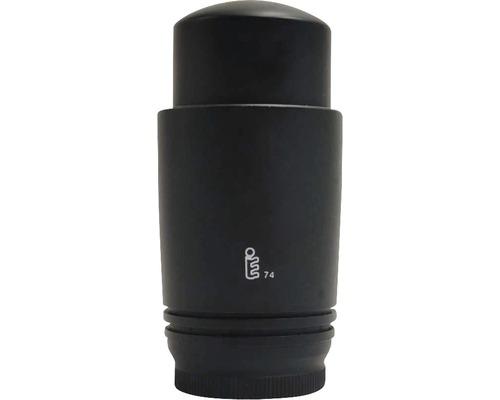 Tête thermostatique design M30x1,5 noir