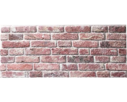 Lambris brique Rebel of Styles UltraLight Brick Loft rouge 50x120 cm-0