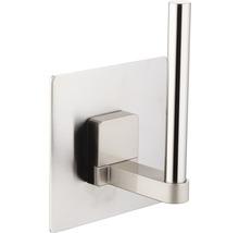 Stockeur de papier toilette REIKA Ovaro magnétique acier inoxydable mat sans plaque de montage-thumb-1