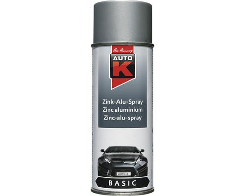 Auto-K Basic peinture en aérosol zinc-alu 400ml