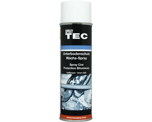 SprayTec spray cire de protection de dessous de caisse marron clair 500ml